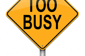 Are you too busy to fundraise?