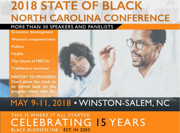 2018 State of Black North Carolina Conference